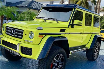 MERCEDES BENZ G550 SQUARED